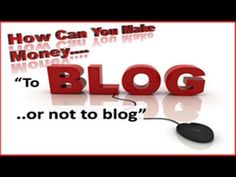 Why Make a Blog?  How to Make Money in Network Marketing Pt. 1