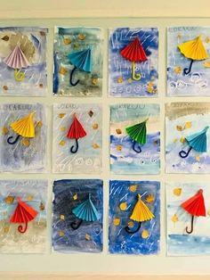 The Best Winter Art Projects for Kids and Teens Kindergarten Art, Preschool Crafts, Crafts For Kids, Arts And Crafts, Paper Crafts, Autumn Crafts, Spring Crafts, Classe D'art, Spring Art