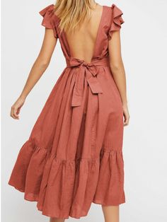 Endless Summer Takin A Chance Midi Dress Details Style No. Color Code: 010 In a linen-cotton blend this midi dress features a low open bac Look Fashion, Fashion Outfits, Fashion Trends, Womens Fashion, Emo Outfits, Fashion Spring, Dress Fashion, Fashion Boots, Fashion Clothes