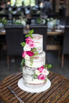 Naked Cakes are currently a hot trend. In this workshop with Alisha Henderson from Sweet Bakes, learn the process to creating a stunning 3 tiered 'semi naked' wedding cake