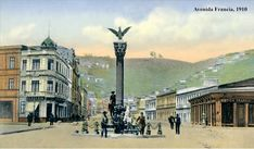 Cities, Art Deco Era, Old Pictures, Past, Street View, History, Chili, Design, Social Stories