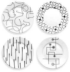 In The Mix Dinner Plate Set by notNeutral contemporary-specialty-cookware
