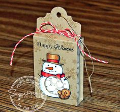 SugarPea Designs - Sweet Treats Christmas, Have An Ice Day, Frosty Friends, Merry Christmoose & Sugar Cuts Layered Treat Labels by Lisa Lara