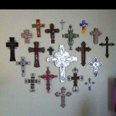 My cross wall  dg