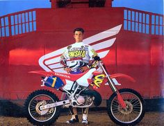 The King in 1994 - Jeremy McGrath  Had the bike just wish I could ride it like that badass