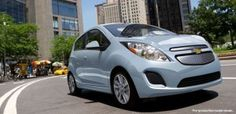 Electric Chevy Spark! An electric fun-sized machine!