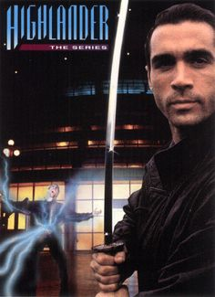 Highlander, with Adrian Paul as Duncan McLeod