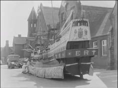 Midlands News film of Chance Apprentices readying a replica of the Golden Hind for launch in August 1967 Golden Hind, Birmingham, Brother, Videos, Trust, Memories, Film, Glass