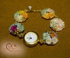 FLOWERRisa様オーダー品の腕時計|ハンドメイド、手作り、手仕事品の通販・販売・購入ならCreema。