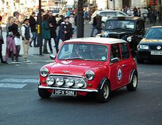 Austin Mini Cooper by kenjonbro