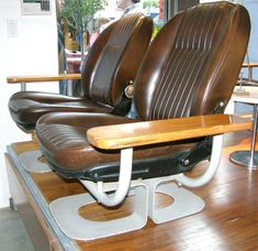 Incredible  Pininfarina Fiat  Automobile Paris Showroom Chairs | From a unique collection of antique and modern settees at http://www.1stdibs.com/furniture/seating/settees/