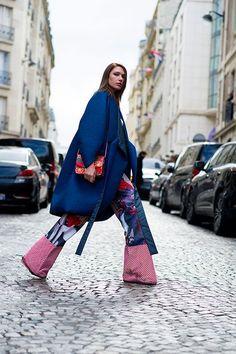 Street Style Blog, Street Chic, Street Style Women, Street Wear, Street Styles, 50 Fashion, Look Fashion, Fashion Outfits, Womens Fashion