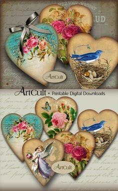 Recortes de imágenes de San Valentín corazón regalo por ArtCult