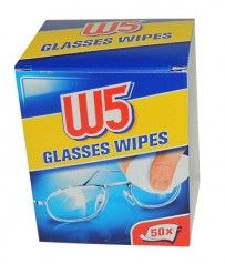 Салфетки для очков W5 GLASSES WIPES, 50 шт Finland Trip, Personal Care, Glasses, Eye Glasses, Eyewear, Personal Hygiene, Eyeglasses