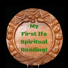 Here is an account of someone getting an Ifa reading for the first time.  There are also helpful hints if you are new to the Orisha traditions and to Ifa....