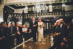 Alexandra Roberts Photography | #AldenCastle #LongwoodVenues #BostonWedding #Boston #Wedding #Bride #Groom #Photography #WinterWedding #Ceremony #Aisle #FlowerPetals #FatherDaughter http://longwoodevents.com http://alexandraroberts.com