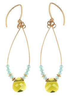 Tutorial - How to: Dewey Meadow Drop Earrings Project | Beadaholique