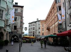 15 Best Things to Do in Innsbruck (Austria) - The Crazy Tourist Stuff To Do, Things To Do, Modern History, Alps, Old Town, Austria, Street View, Europe, Italy