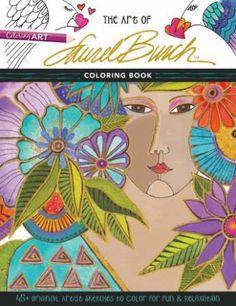 Art of Laurel Burch Coloring Book