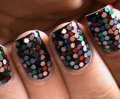Sequin Nails