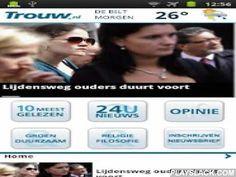 Trouw.nl Mobile  Android App - playslack.com ,  Download gratis Trouw.nl Mobile en blijf ook onderweg op de hoogte van het laatste nieuws. Alle artikelen van Trouw.nl nu ook op uw Android-telefoon! Trouw biedt u de volgende diensten aan: - De belangrijkste gebeurtenissen in Nederland en in de wereld. Actueel, kort, bondig en compleet. - Opiniestukken tegen de achtergrond van het nieuws. Originele meningen over alles wat er speelt. Doe mee, en vertel zelf wat u ervan vindt. - Nieuws en…