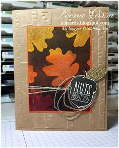 A La Cards: A Fall Holiday Catalogue Preview and new Tutorial Video