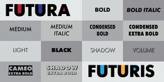 Futura® Futuris - Webfont & Desktop font « MyFonts