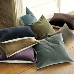 Velvet & Linen Pillows