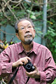 Shomei Tomatsu in Naha, Okinawa Prefecture, in 2009 (Asahi Shimbun file photo)