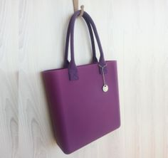 Silicone handbag  Plumtastic by FABLOU on Etsy, £60.00