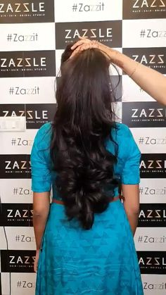 Long Ponytail Hairstyles, Long Hair Ponytail, Braids For Long Hair, Indian Hairstyles, Black Hair Video, Long Hair Video, Long Silky Hair, Long Black Hair, Long Hair Indian Girls