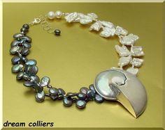 Perlenketten - Nautiluscollier & bizarre Perlen - ein Designerstück von Dream-Colliers bei DaWanda