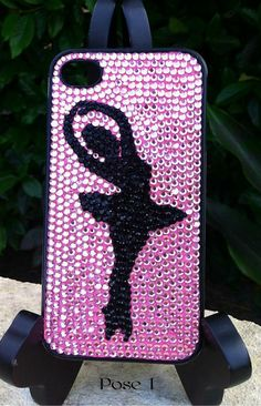 Rhinestone Ballet iPhone 4/4S or iPhone 5 Case by PhoneDazzle, $55.00                                                 youtube to mp3