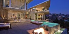 Literally my dream house: HOUSE OF THE DAY: Swedish DJ Avicii Spent $15.5 Million On This Bonkers Mansion In The Hollywood Hills