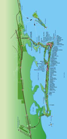 Cancun Restaurants Map