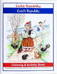 Coloring and Activity Book – Czech Republic | Penfield Books