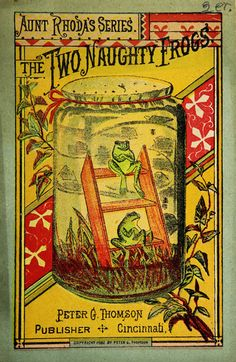 ¤ The Two Naughty Frogs 1882