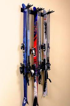 compact garage ski storage