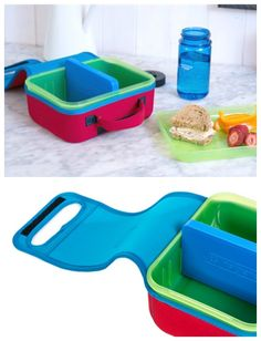 The new Nalgene Lunch Buddy lunch box is easy to pack, easy to unpack, and really keeps everything cool