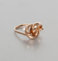 Bague Christo Or Rose Ma Demoiselle Pierre en vente chez L'Exception