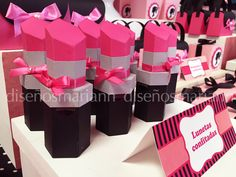 60 Ideas Makeup Party Favors Spa Birthday For 2019 Barbie Theme Party, Barbie Birthday Party, Spa Birthday, Birthday Favors, 4th Birthday Parties, Birthday Decorations, Party Favors, Birthday Makeup, Spa Day Party