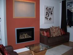 This is my new Living Room with a modern fire,nature inspired interiors and the wall sticker created as a picture as shown in the My Deco ideas for your home