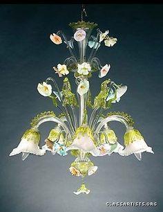 Murano Glass Italian Chandeliers