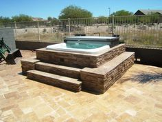 Hot Tubs & Spa Surrounds by The Yard Company - Services