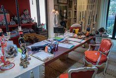 Visiting interior designer Carlo Rampazzi in his atelier #Selvaggio #design #interiordesign #CarloRampazzi Designer, Interior Design, Atelier, Interior Designing, Nest Design, Home Interior Design, Home Decor, Interiors, Design Interiors