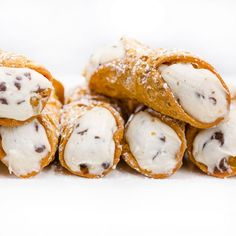 Large Original Cannolis - 1 Dozen. The Cake Boss ships these to you to fill with the cream. Nom.