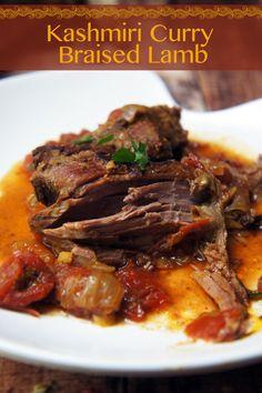 kashmiri curry braised leg of lamb kashmiri curry braised leg of lamb ...