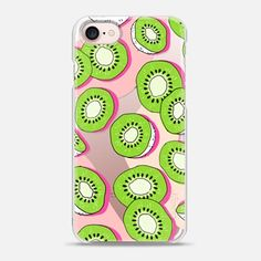 Casetify iPhone 7 Case and Other iPhone Covers - Kiwi Summer Fruit by Megan Roy | #Casetify