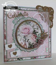 Geralien's Creaties: Romantisch roze
