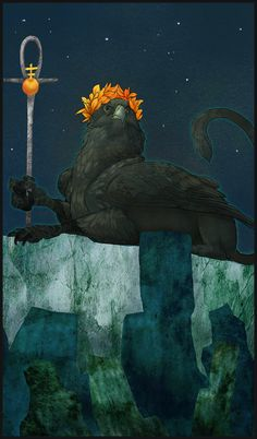 Gryphon Tarot - The Emperor by Bailiwick on deviantART